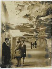 Suède, Karlskrona, abris atomiques Vintage silver print Tirage argentique  1