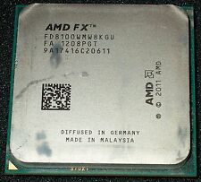AMD FX-8100 2.8 GHz Eight-Core Processor, FD8100WMW8KGU, Socket AM3+