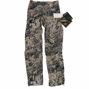 Sitka Mens Dew Point Pants Open Country Camo Waterproof Pants Medium Tall 50052