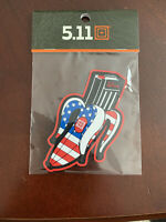5.11 TACTICAL BANANA CLIP MAGAZINE PATCH ALWAYS BE READY New