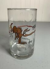 Vintage Arby's 1981 B.C. Ice Age Comic by Hart Glass Tumbler The Anteater Zot