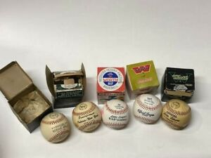 Lot of Five (5) Vintage Worth Brand Baseballs with Original Boxes