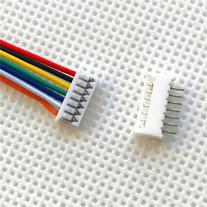 10sets Micro JST 1.25 7-Pin Male & Female Connector Plug with Wires Cables