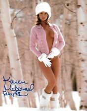 KAREN McDOUGAL 1998 PLAYBOY PLAYMATE OF THE YEAR SEXY SIGNED PHOTO  (IN2)