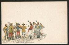 1898 AUSTRIA HUNGARY MINT POSTAGE PREPAID POSTCARD DANCE OF THE HUSSARS  MUSIC