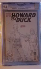 HOWARD THE DUCK #1 CGC 9.8  FIRST APPEARANCE OF GWENPOOL LIM SKETCH EDITION