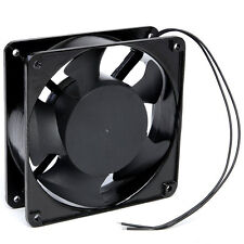 BEARING DC 220v 12cm 120mm x 38mm VENTOLA COOLING FAN VENTOLA RADIATORE NERO NUOVO