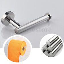Stainless Steel Bathroom Wall Toilet Paper Holder Roll Tissue Holder Rack Screws