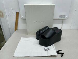 Simon Miller Blackout Platform Sandals - Euro Size 38