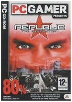 REPUBLIC THE REVOLUTION - POWER GAME SIMULATION - PC CD NEW SEALED