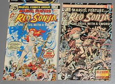 Red Sonja === 2 x Marvel Comics