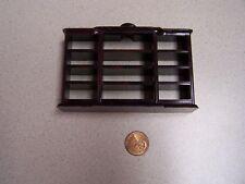 Vintage Plasco Miniature Dollhouse hard plastic Bookcase unit