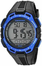 Timex TW5K94700, Men's Marathon Resin Watch, Indiglo, Chronograph, TW5K94700M6