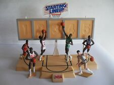 STARTING LINEUP - NBA - 2 FIELD & 12 TOY JORDAN PARISH McHALE ERVING WORTHY WEBB