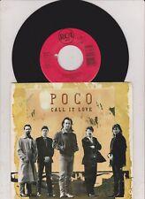 "POCO -Call It Love- 7"" Single vg +"
