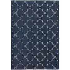 "Oriental Weavers 5994B Ellerson Area Rug, Navy/Ivory, 9'10"" by 12'10"