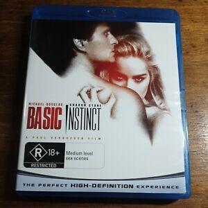 Basic Instinct Bluray LIKE NEW! FREE POST