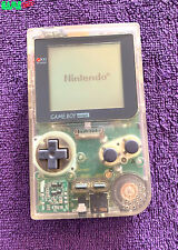 NINTENDO GAME BOY POCKET CONSOLE GAMEBOY *NO DEAD PIXELS* CLEAR SYSTEM TESTED
