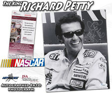 "RICHARD PETTY Signed NASCAR RACING ""THE KING"" 8x10 - JSA #I84499"