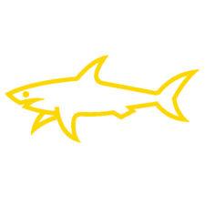 Paul & Shark - Adesivo Prespaziato - Colore Giallo - 10cm