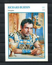 Starkarte Richard Burton - Cleopatra  1963    (ST8)