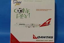 "Brand New Gemini Jets Qantas Boeing 747-400 ""Come Play"" GJQFA1001 Scale 1:400"