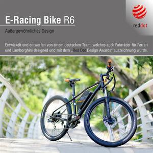 SACHSENRAD R6 E-Racing Mountain Bike 26 Zoll Reifen- und Rahmengröße