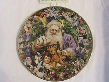 "New listing Victorian Christmas Memories Porcelain Plate John Grossman ""Dreaming Of Santa"""
