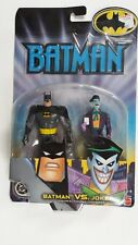DC Mattel - Batman vs Joker Figurines - New & Sealed