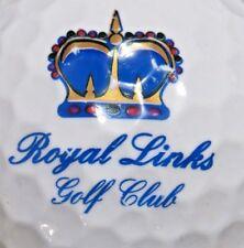ROYAL LINKS GOLF CLUB LAS VEGAS GOLF COURSE LOGO GOLF BALL