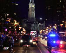 POPE FRANCIS 9-26-2015 Philadelphia in Jeep Popemobile - US Tour - 8x10 photo