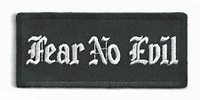 FEAR NO EVIL - IRON ON PATCH