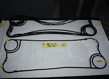 QTY 6 Heat exchange Gaskets probably Alfa Laval 94 x 34cm