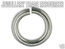 Platinum 3mm Jump Ring Jewellery Making