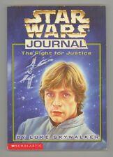 Star Wars Journal Luke Skywalker by John Peel 1998 PPBK Scholastic First Edition