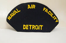 Naval Air Facility Detroit Patch Patches USN US Navy United States Military NEW