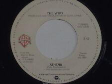 "THE WHO -Athena- 7"" 45"