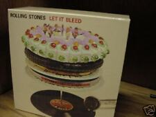 ROLLING STONES  LET IT BLEED 6 JAPAN OBI  REPLICA TO ORIGINAL LP RARE 10CD Box