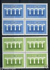 Europa CEPT 1984 1307-1308 blokken van 4 *ruim onder de postkantoorprijs*