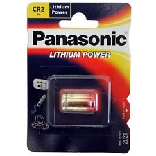 Panasonic CR2 Photo Lithium Camera Battery 3V High Power Cell