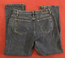 Lee Riders  Relaxed Straight Stretch Jeans size 12P 33x29""