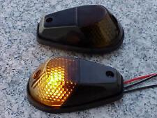 Kawasaki Ninja 250 300 500 ZX6R ZX9R ZX10R BLACK/SMOKE Flush Mount Turn Signals