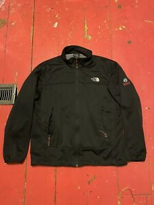 The North Face Summit Series Mens L Fleece Lined Windstopper Zip Jacket Black