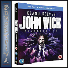 John Wick Chapters 1 & 2 Blu-ray Digital Download 2017 DVD 50518922091