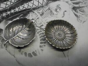 Buccellati Foglie in Argento 925‰ Lotto di 02 Foglie
