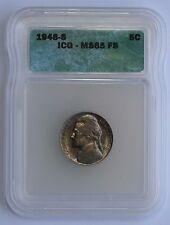 1948 S Jefferson Nickel ICG MS65 FS Full Steps