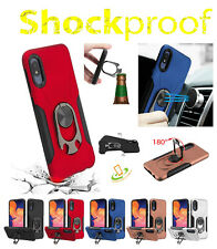 iPhone 12 Mini Pro Max Hybrid Case Ring Holder Stand Cover Magnet Bottle Opener