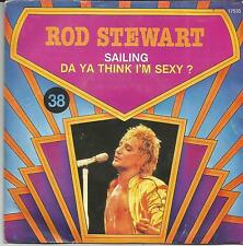 ROD STEWART Sailing BELGIUM SINGLE WARNER 1980 REISSUE