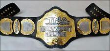 TNA Heavyweight Wrestling Champion Belt Brass Metal Plates