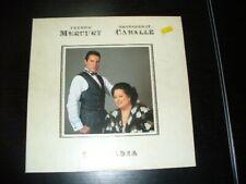 Freddy Mercury Monsterrat Caballe BARCELLONA vinile vinyl lp 1988 very good